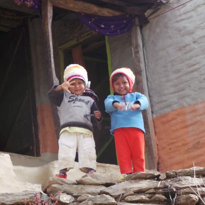 The Children of Nepal