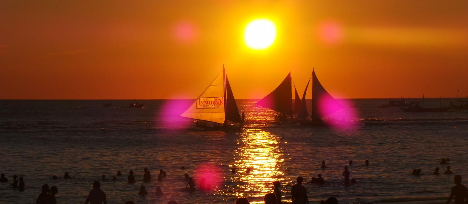 Busy Boracay