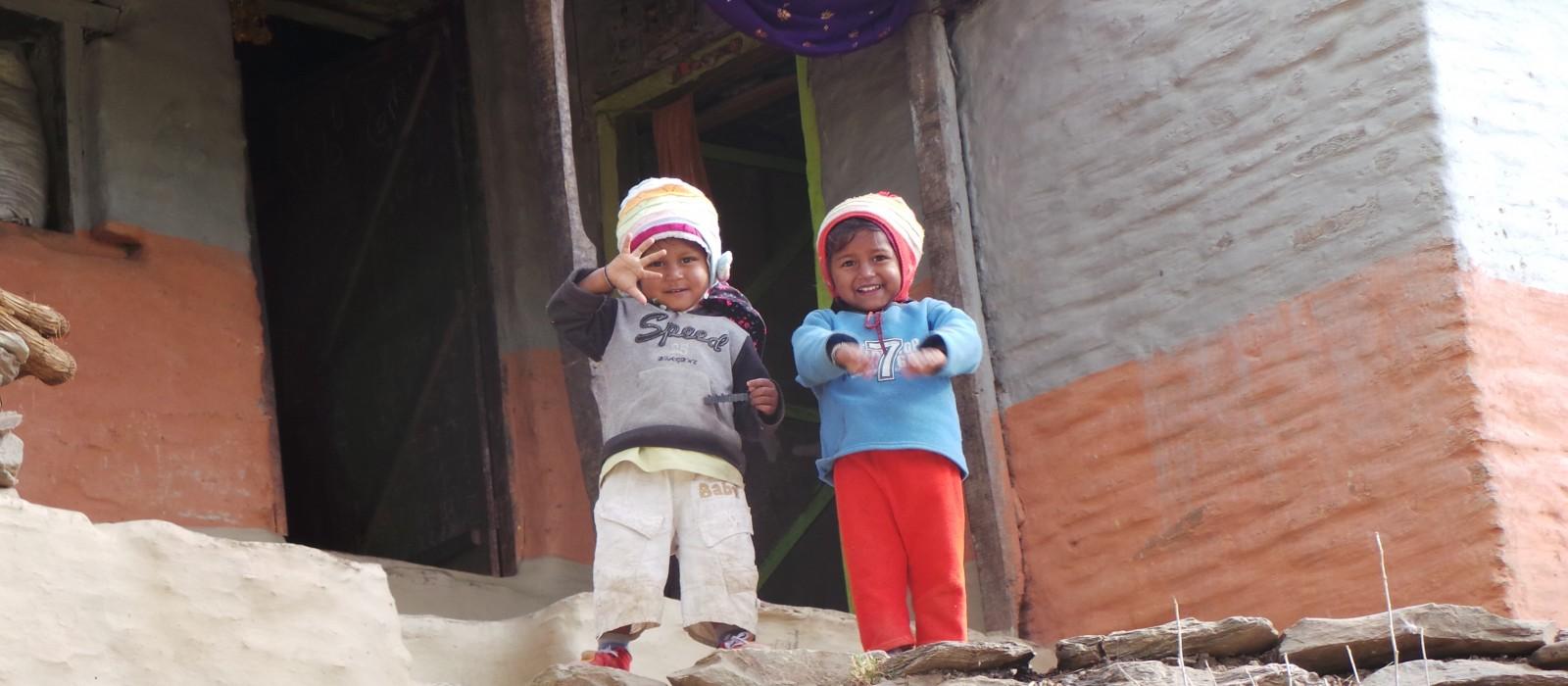 The Children of Nepal